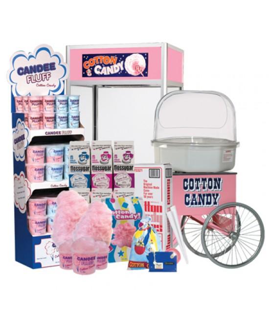 租用綿花糖機 - 包材料及工作人員 (3小時)
